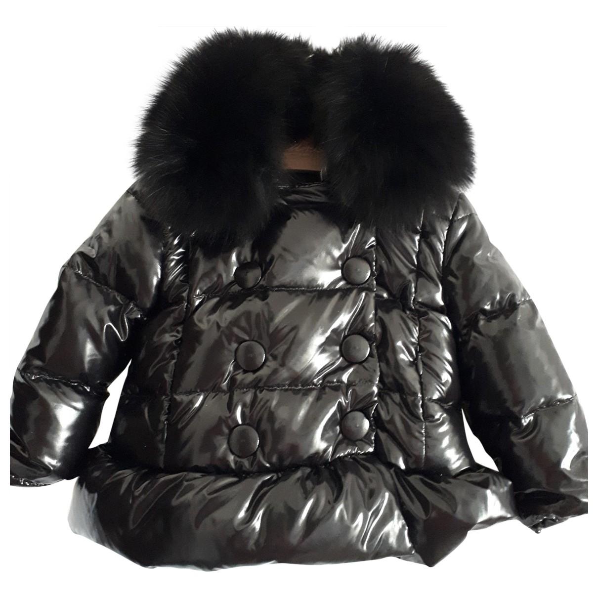 - Blousons.Manteaux   pour enfant - noir