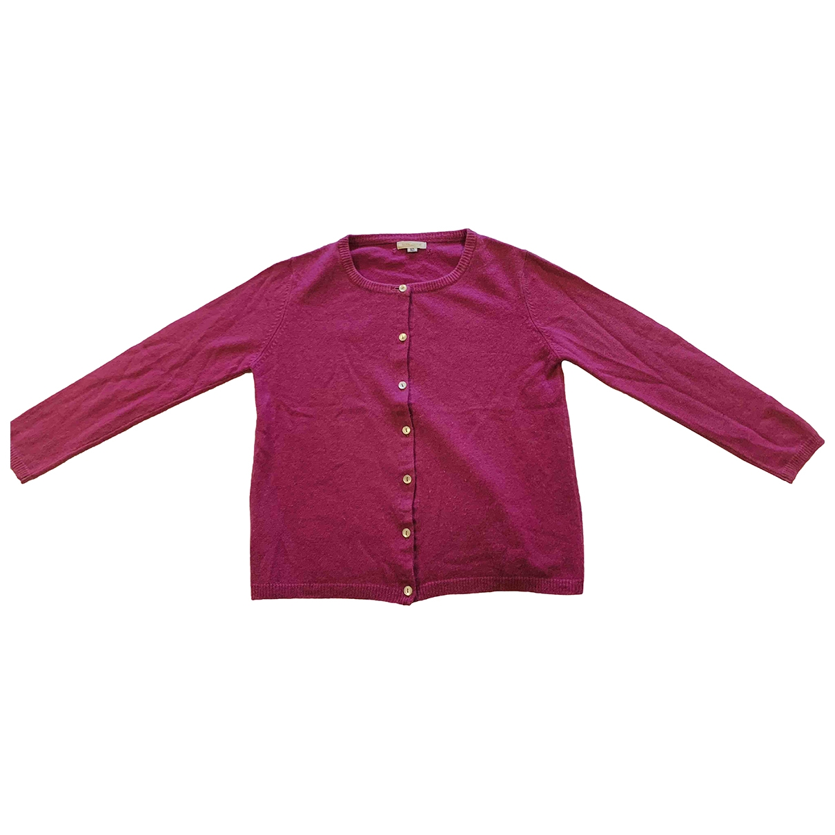 Non Signé / Unsigned \N Pink Cashmere Knitwear for Kids 10 years - up to 142cm FR