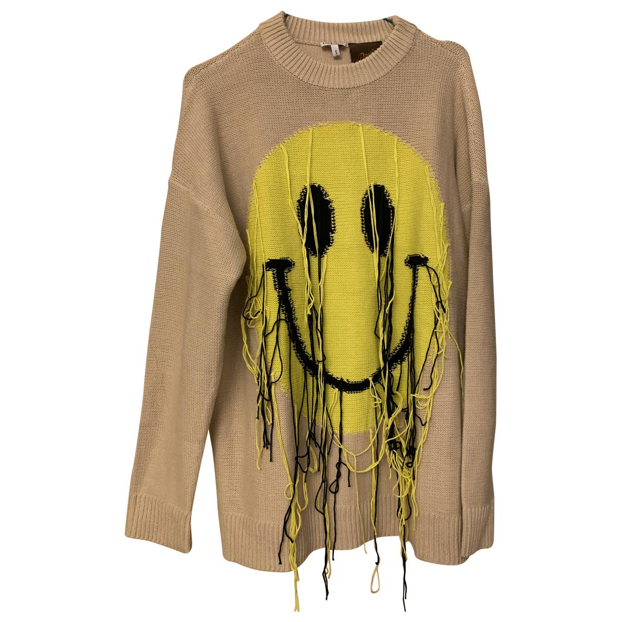 Loewe \N Pullover.Westen.Sweatshirts  in  Khaki Wolle