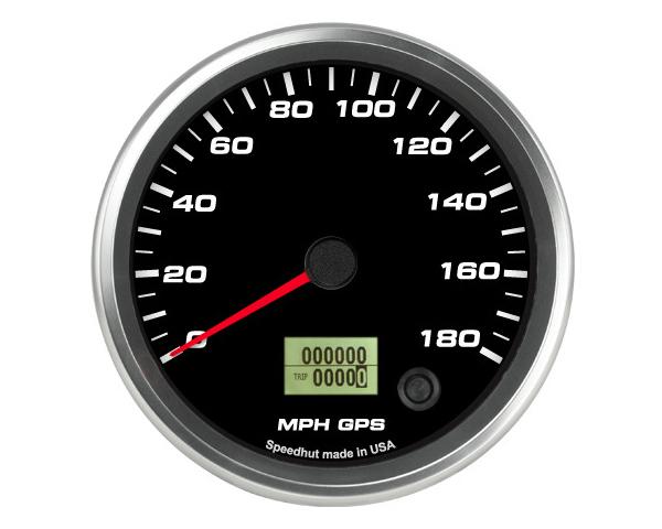 SpeedHut GR4.5-GPS-05 GPS Speedometer Gauge 180mph