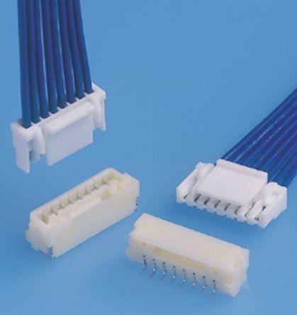 JST , GH, BM07B, 7 Way, 1 Row, Straight PCB Header (10)
