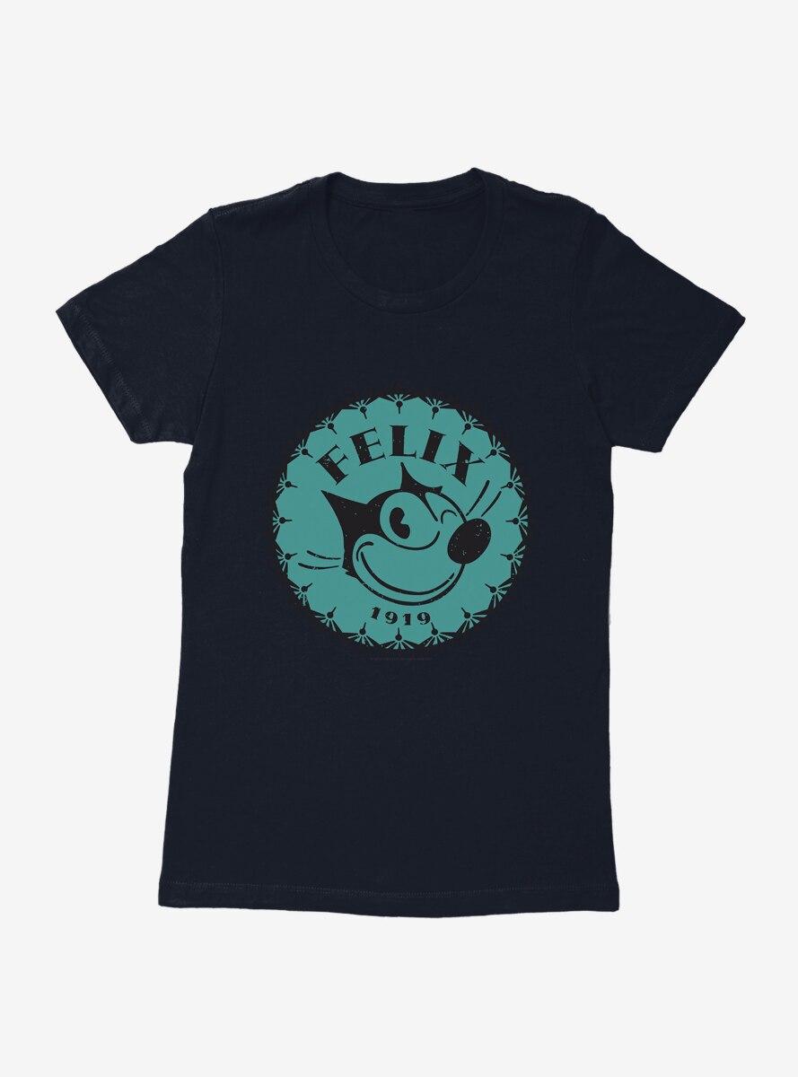 Felix The Cat Logo Womens T-Shirt