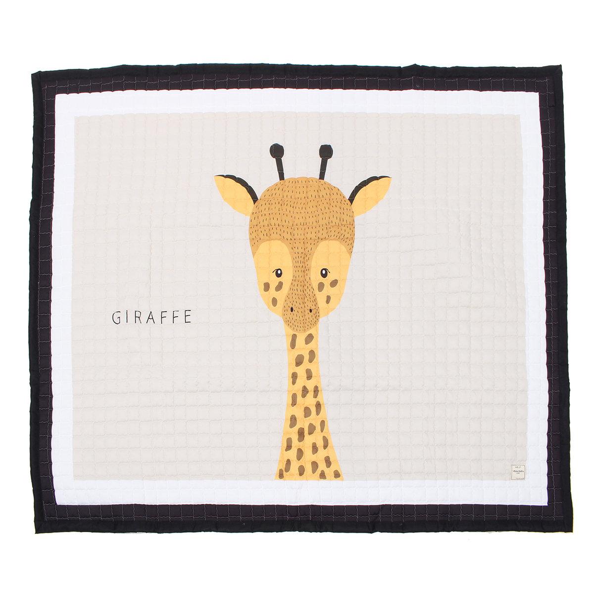 195x145CM Large Big Soft Rectangle Baby Kids Play Mat Floor Rug Crawling Blanket