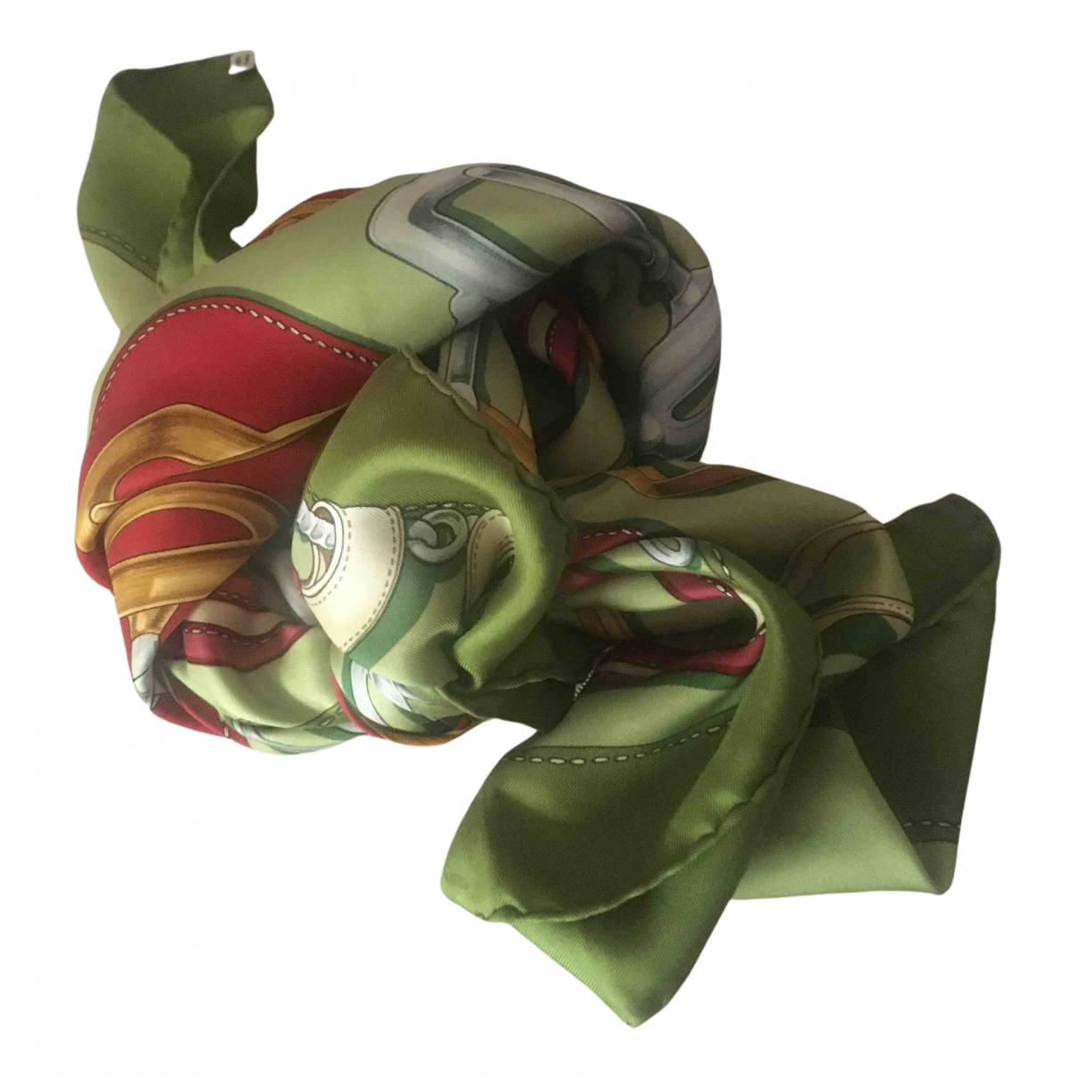 Hermes Carre Geant silk 140 Schal in  Bunt Seide