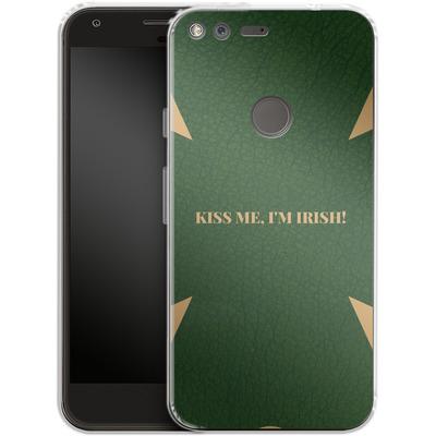 Google Pixel XL Silikon Handyhuelle - Irish von caseable Designs