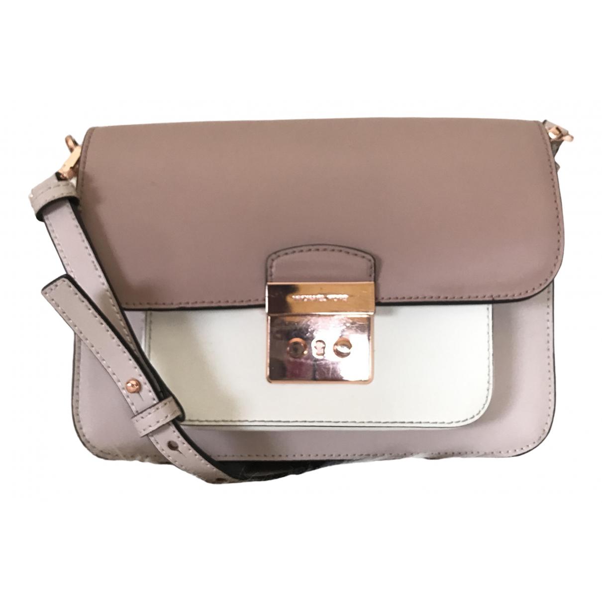 Michael Kors Sloan Handtasche in  Beige Leder