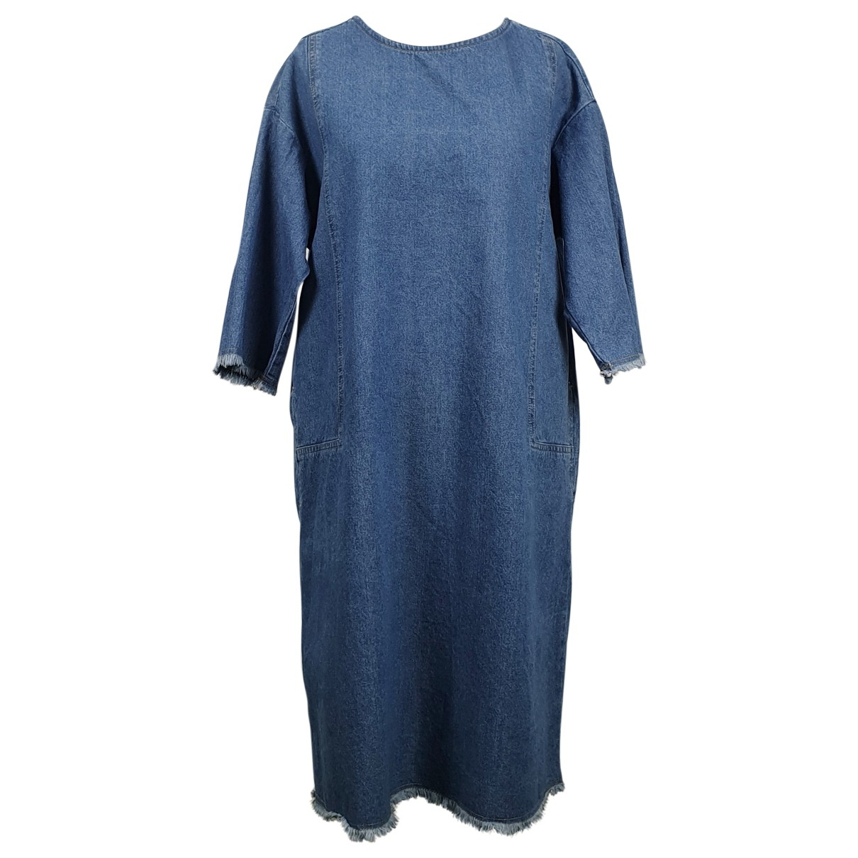 Non Signé / Unsigned \N Turquoise Denim - Jeans dress for Women One Size FR