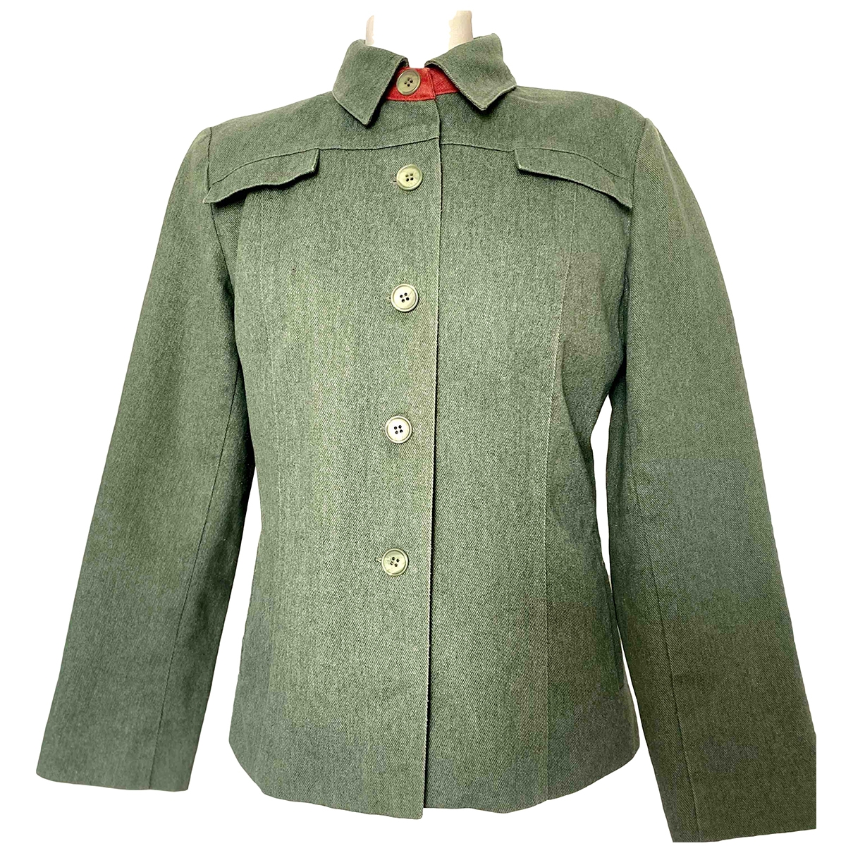 - Veste   pour femme en denim - vert
