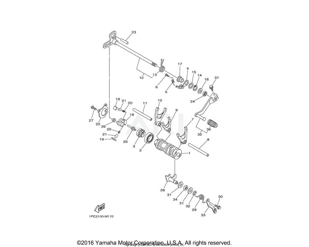 Yamaha OEM 90201-12575-00 WASHER, PLATE