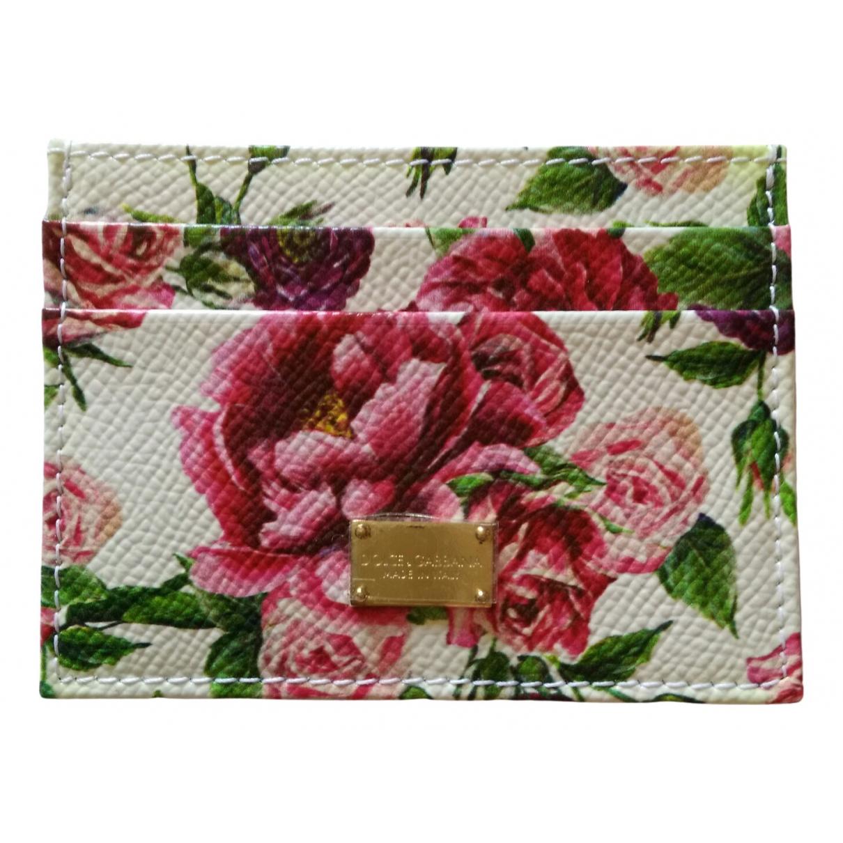 Dolce & Gabbana \N Portemonnaie in  Bunt Leder