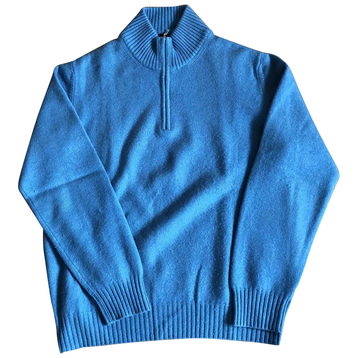 Faconnable \N Blue Cashmere Knitwear & Sweatshirts for Men 44 FR