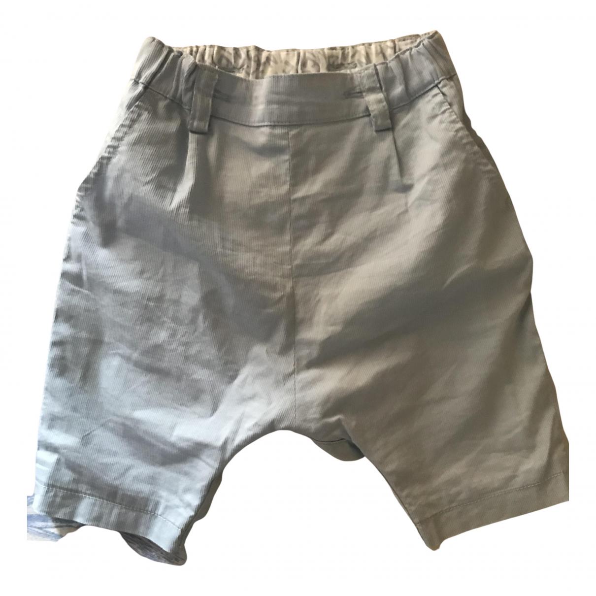 Fendi - Pantalon   pour enfant en coton - turquoise