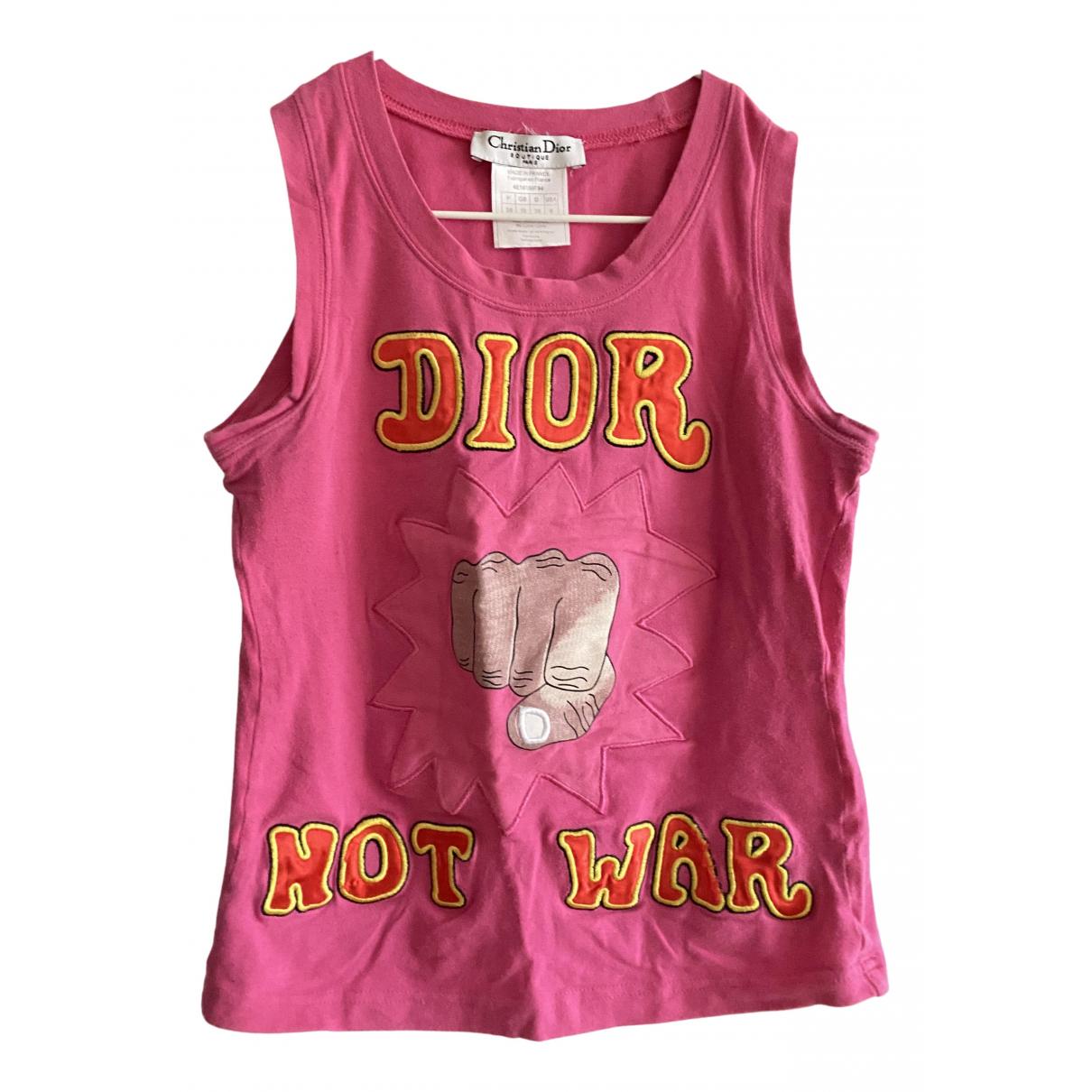 Dior \N Top in  Rosa Baumwolle