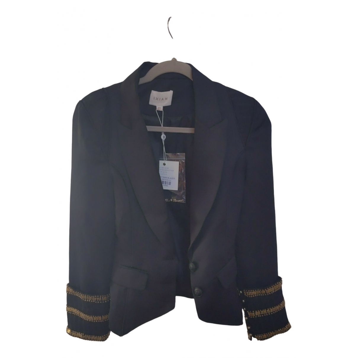 Non Signé / Unsigned \N Black jacket for Women 2 US