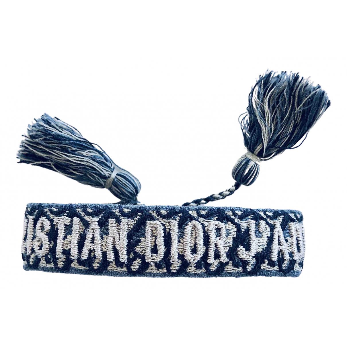 Dior Jadior Blue Cloth bracelet for Women \N