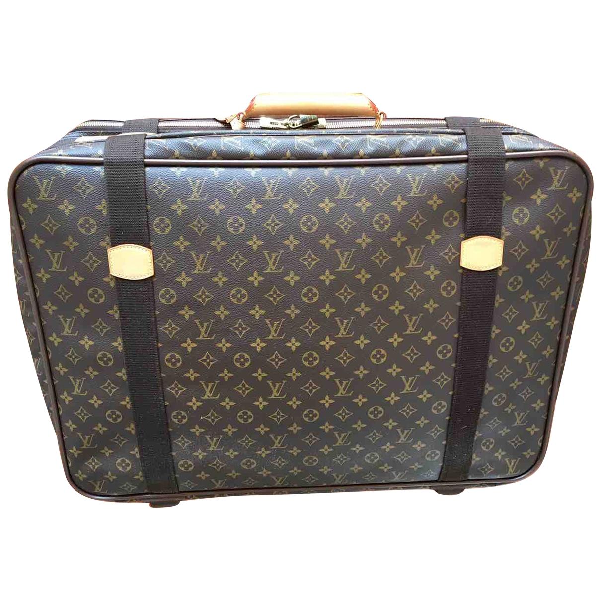 Louis Vuitton - Sac Satellite pour homme en toile - marron