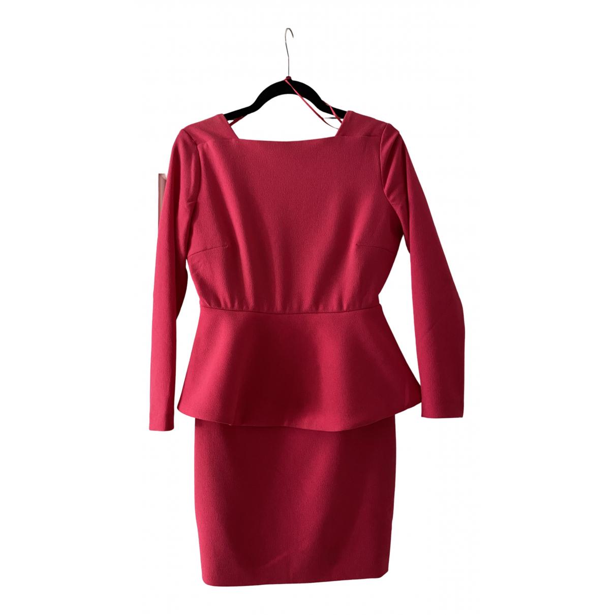 Aqaq \N Kleid in  Rosa Polyester