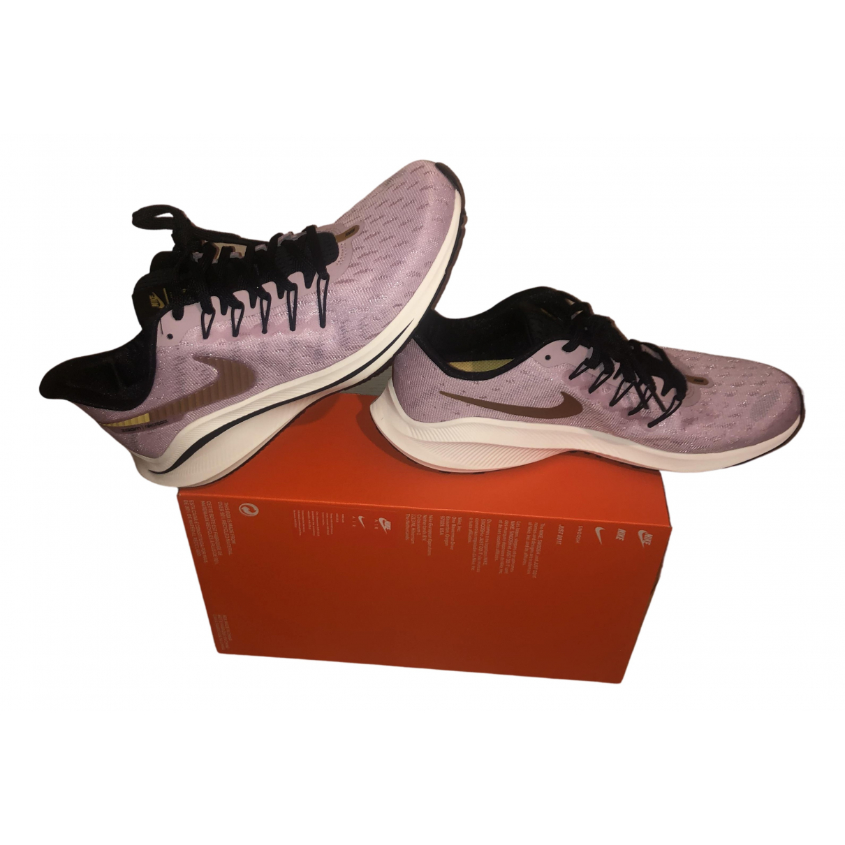 Nike - Baskets Zoom pour homme - rose