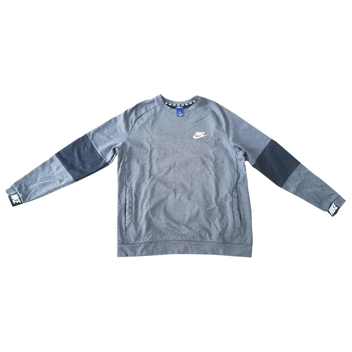 Nike \N Grey Cotton Knitwear & Sweatshirts for Men XL International