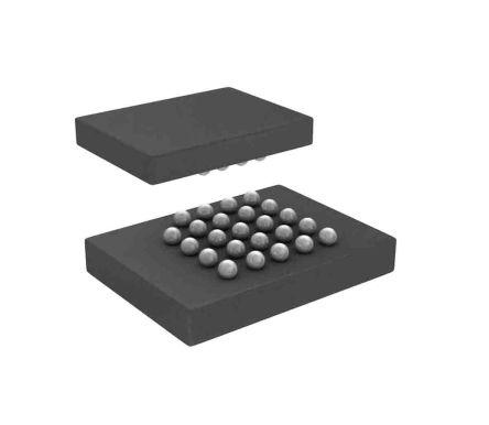 Cypress Semiconductor S26HL512TFPBHI010 NOR 512Mbit Flash Memory Chip, 24-Pin (338)
