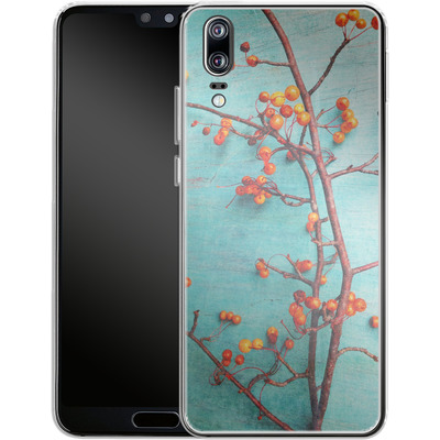 Huawei P20 Silikon Handyhuelle - She Hung Her Dreams on Branches von Joy StClaire