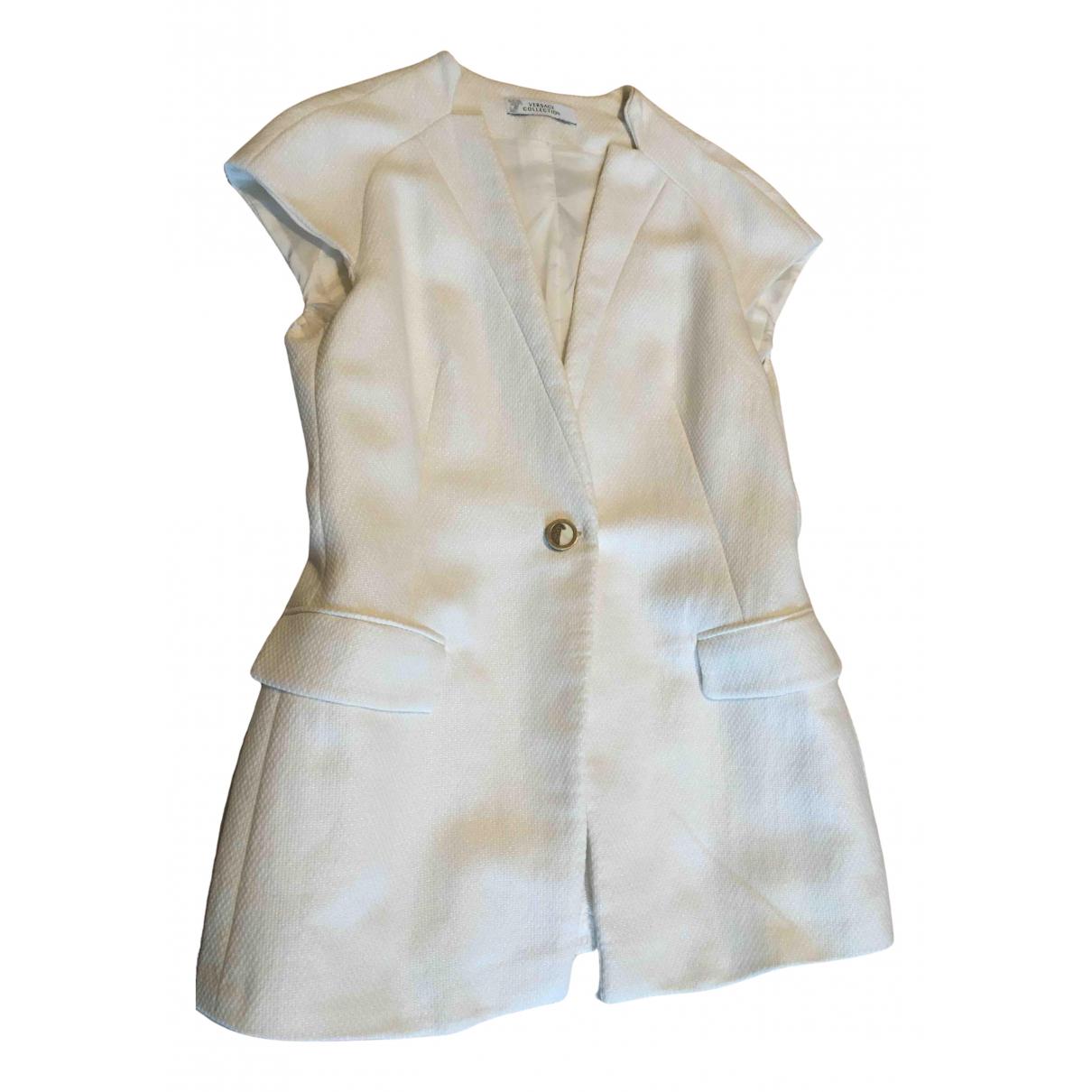 Versace - Veste   pour femme - blanc