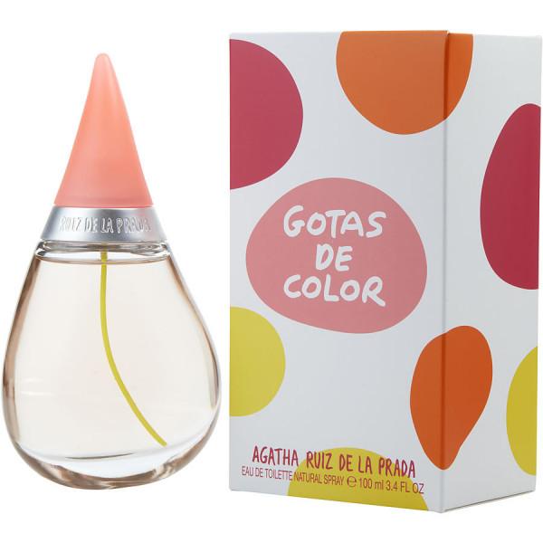 Agatha Ruiz De La Prada - Gotas De Color : Eau de Toilette Spray 3.4 Oz / 100 ml