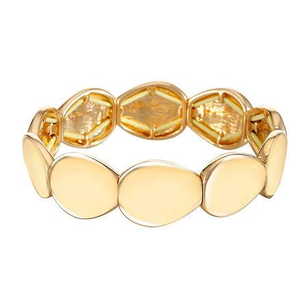 Liz Claiborne Stretch Bracelet, One Size , Yellow