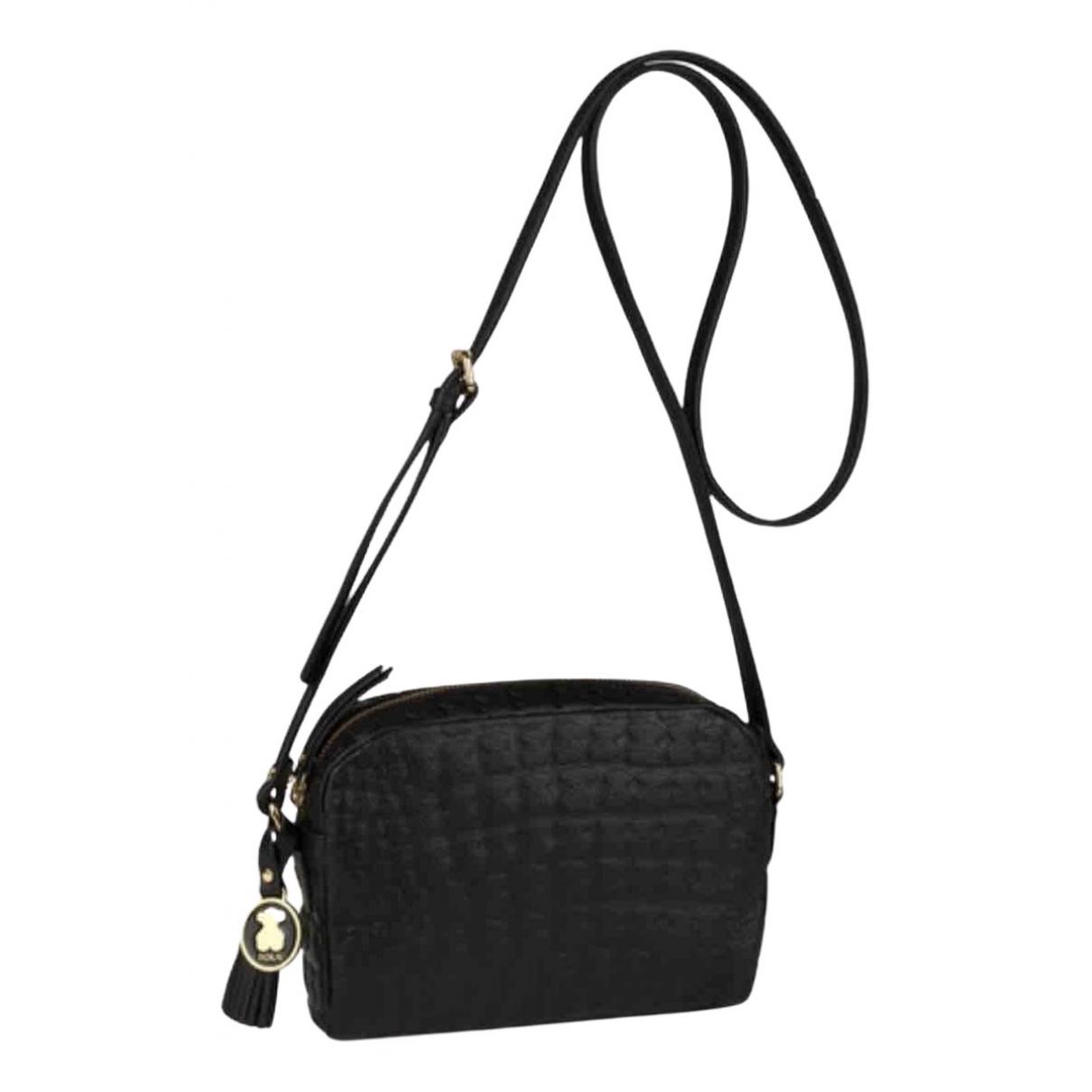 Atelier Tous \N Black Leather handbag for Women \N