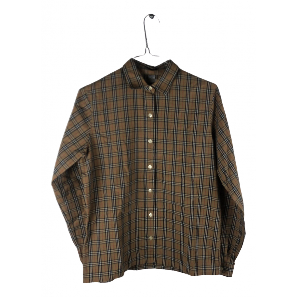 Burberry N Beige Cotton Shirts for Men XS International