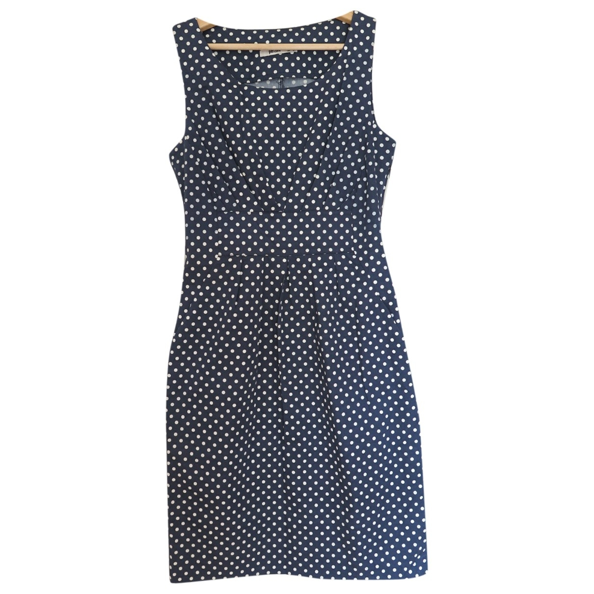 Non Signe / Unsigned \N Kleid in  Blau Baumwolle - Elasthan