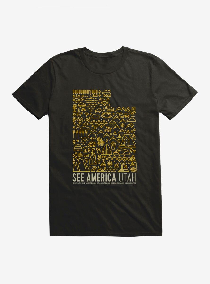 See America Utah T-Shirt
