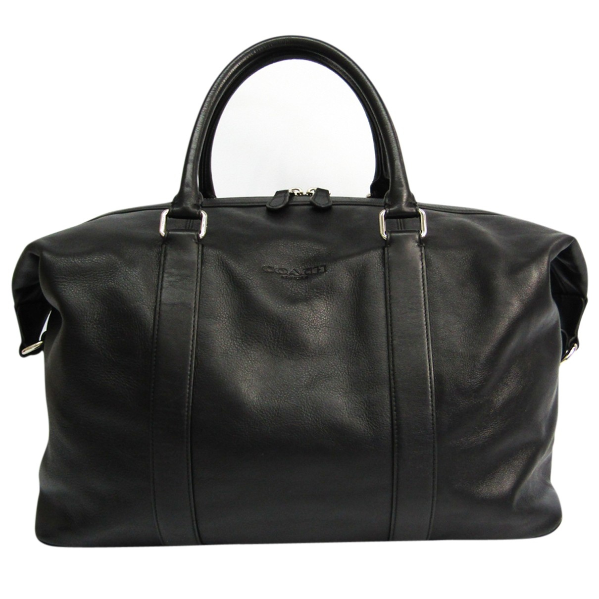 Coach N Black Leather Travel bag for Women N