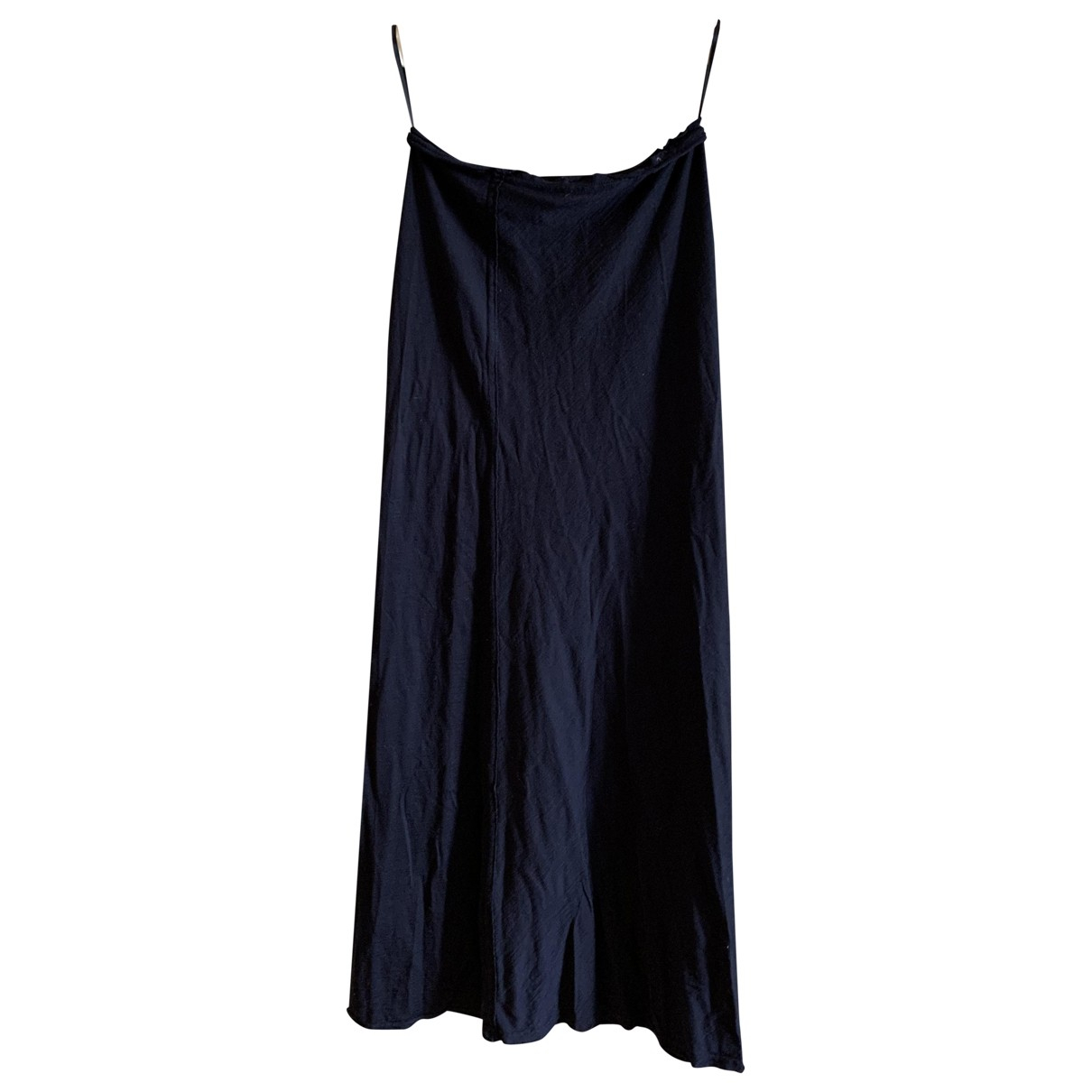 Comme Des Garcons \N Kleid in  Schwarz Seide