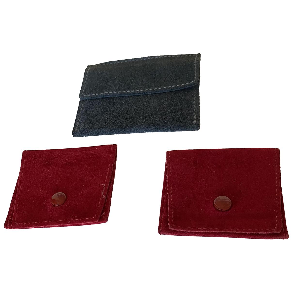 Cartier - Objets & Deco   pour lifestyle en suede - rouge