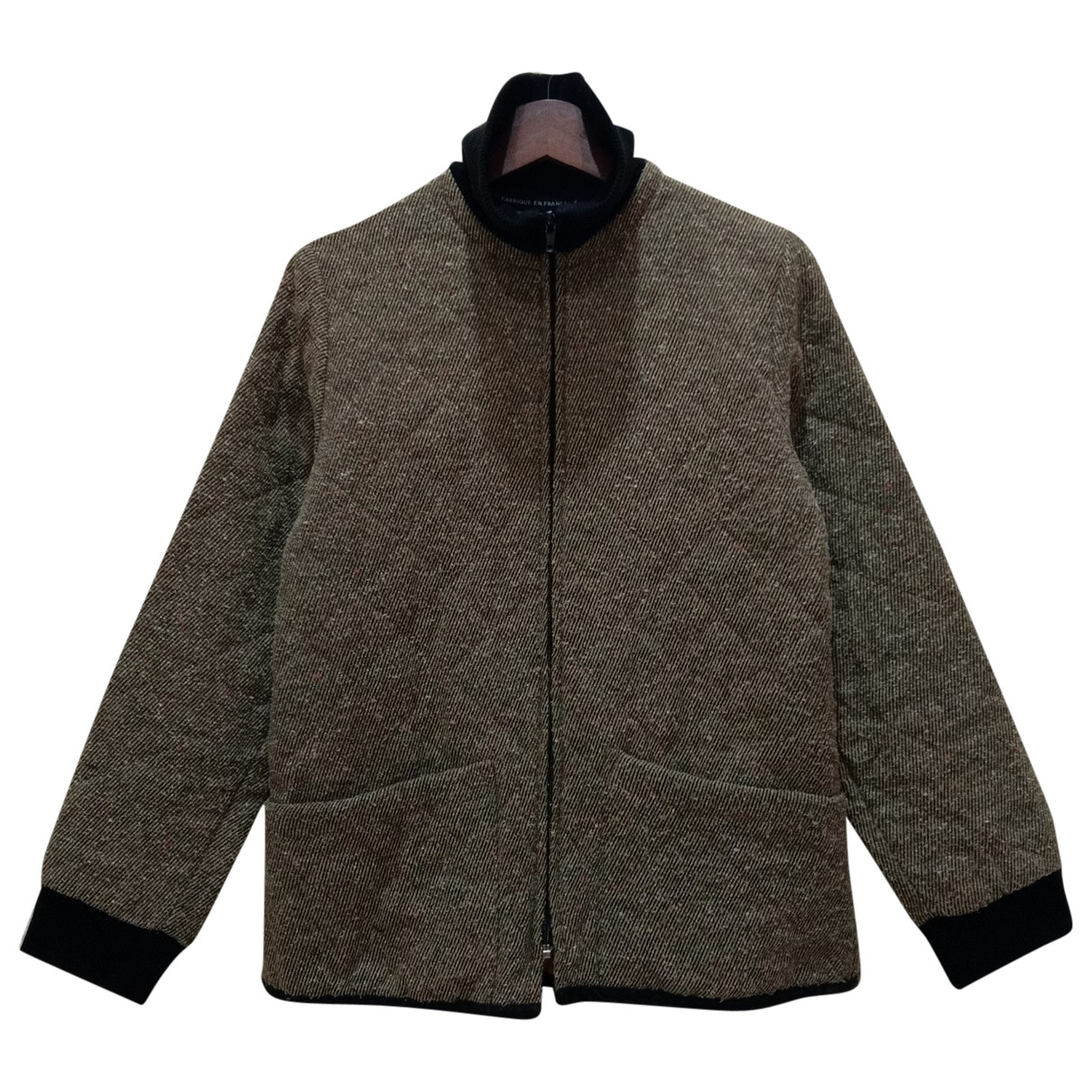 Non Signé / Unsigned \N Brown Wool jacket for Women M International