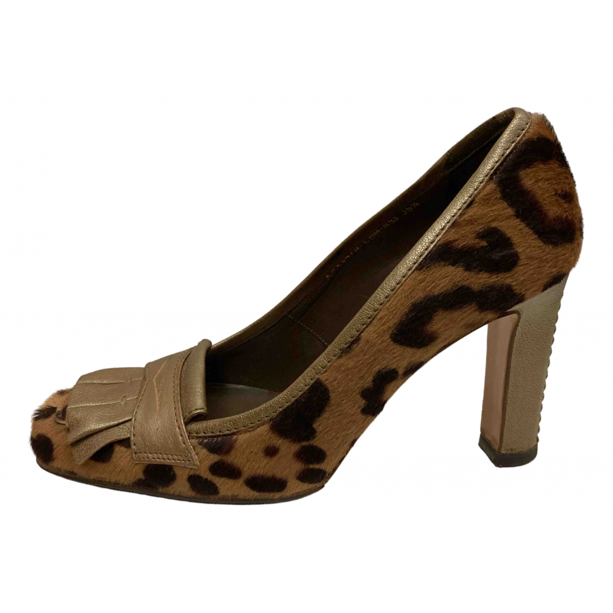 Valentino Garavani N Multicolour Pony-style calfskin Heels for Women 36.5 EU
