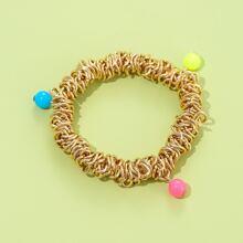 Maedchen Armband mit Perlen Dekor