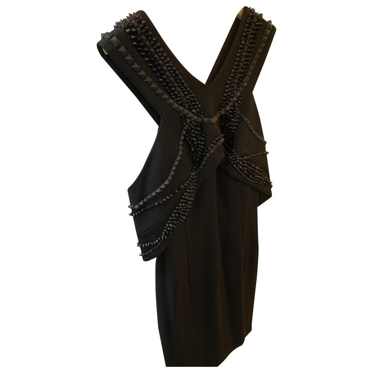 Jay Ahr \N Kleid in  Schwarz Viskose