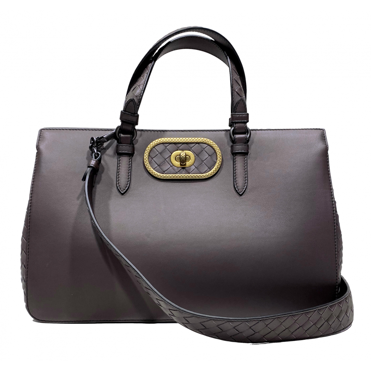 Bottega Veneta N Grey Leather handbag for Women N