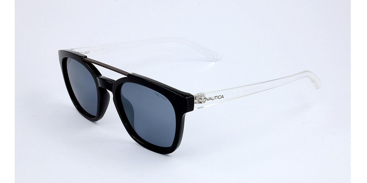 Nautica N3638SP Polarized 039 Men's Sunglasses Grey Size 54