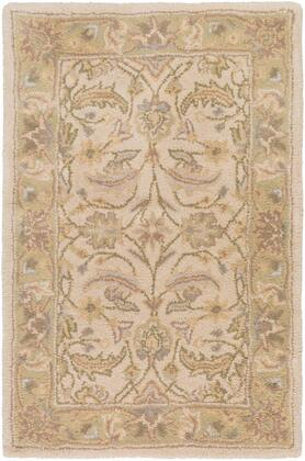 Caesar CAE-1114 4' x 6' Rectangle Traditional Rug in