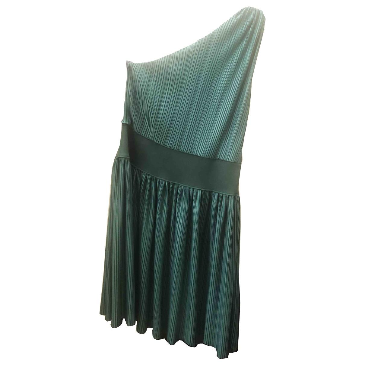 Emporio Armani \N Green Cotton dress for Women 42 IT