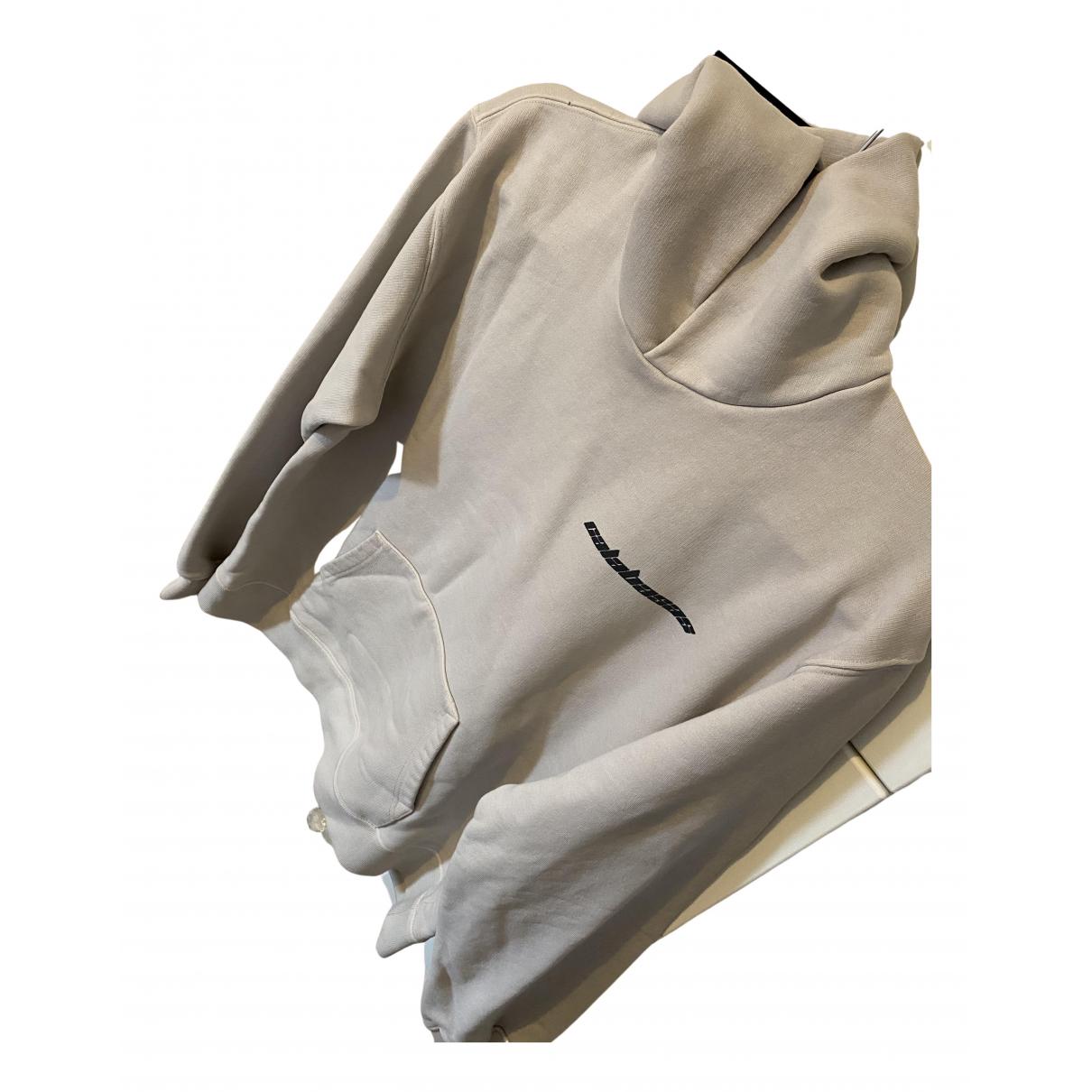 Yeezy \N Pullover.Westen.Sweatshirts  in  Beige Baumwolle