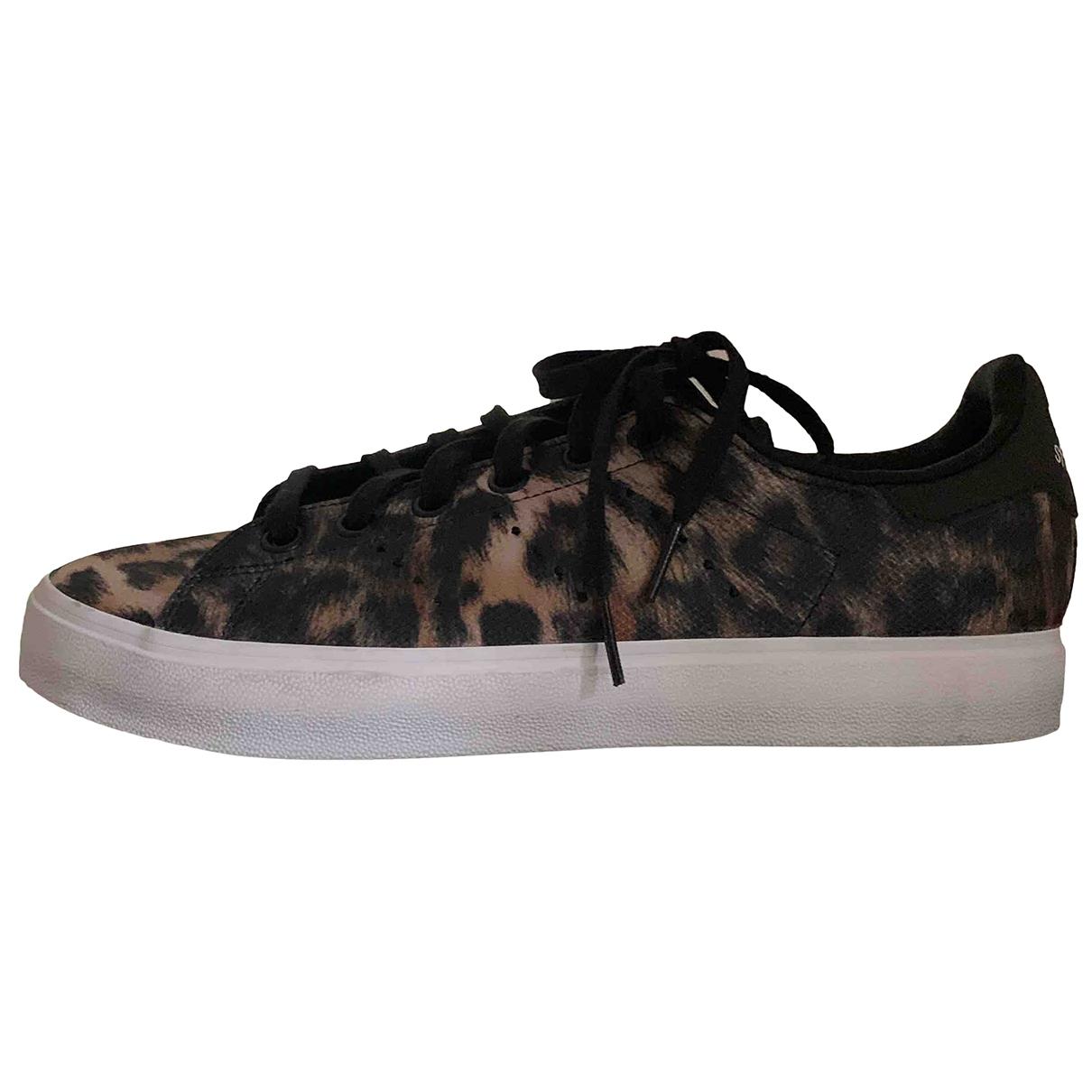 Adidas Stan Smith Sneakers in  Bunt Leinen