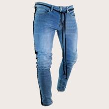 Guys Side Stripe Jeans