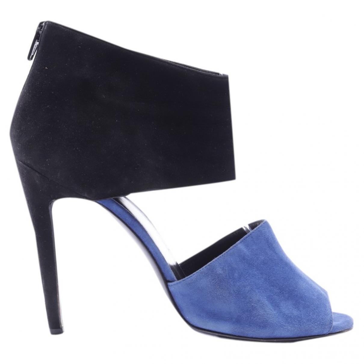 Pierre Hardy \N Black Leather Sandals for Women 39.5 EU