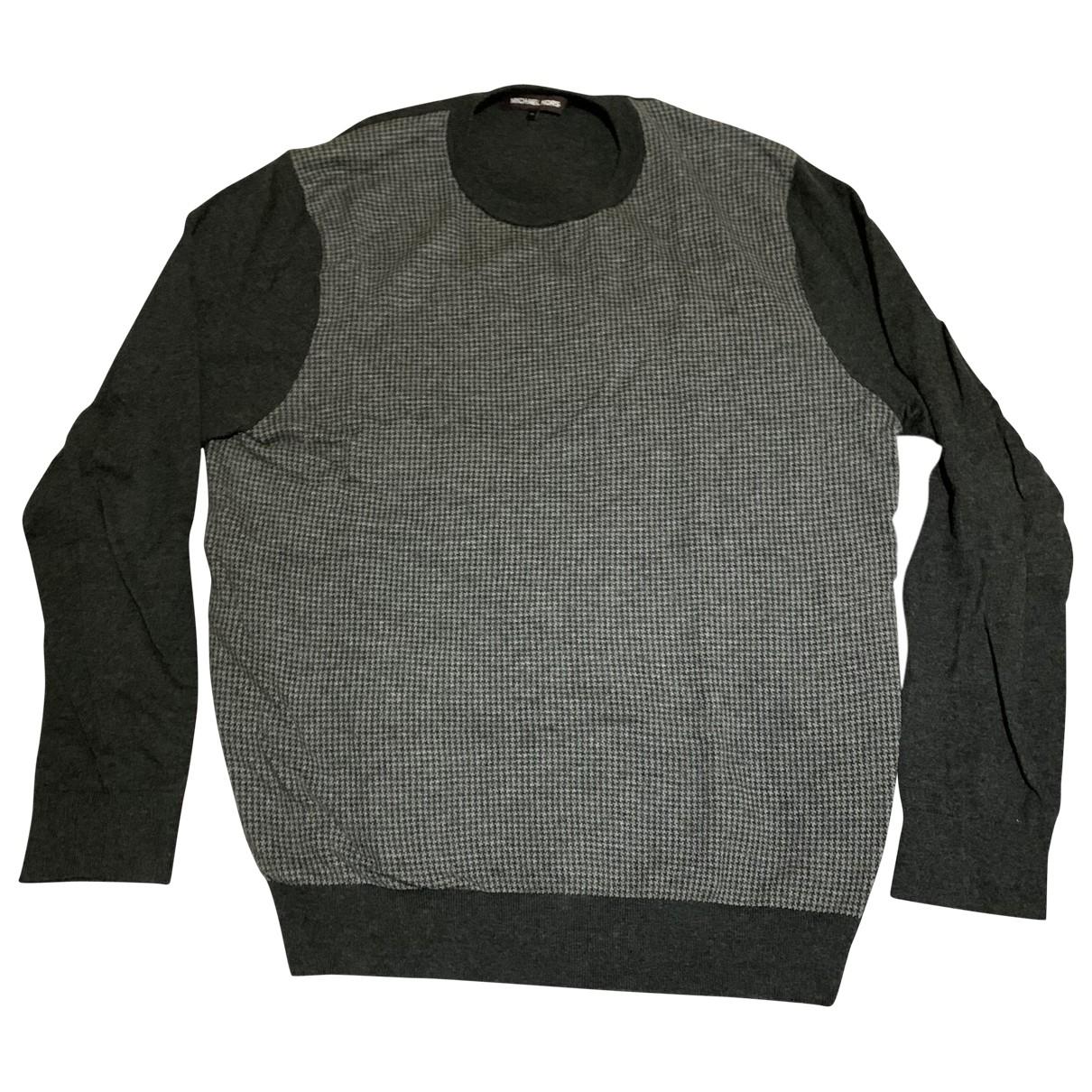 Michael Kors \N Pullover.Westen.Sweatshirts  in  Grau Wolle