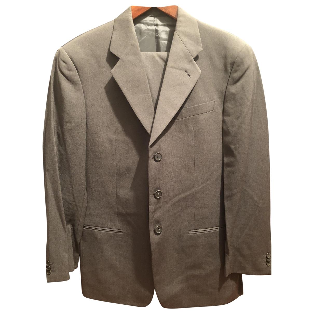 Armani Collezioni \N Grey Wool Suits for Men 50 IT