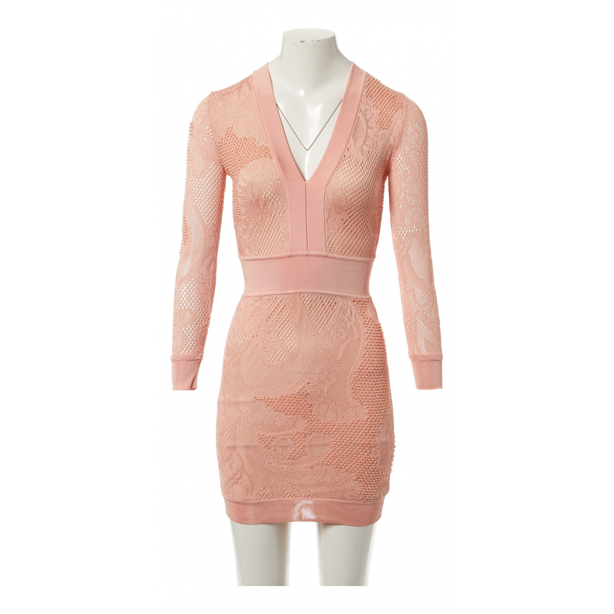 Balmain N Pink dress for Women 34 FR